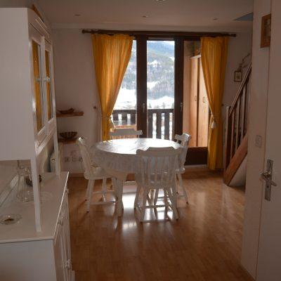 Location Barcelonnette : Le salon